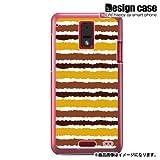 HTC J ISW13HTハード ケース カバー ジャケット/1108_ストライプオータムカラー/CR