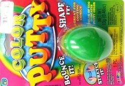 Hot Color Silly Putty