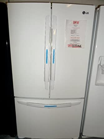 LG LFC25776SW 25.0 Cu. Ft. White French Door Refrigerator - Energy Star