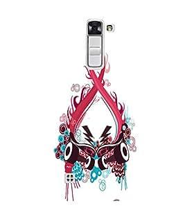 EPICCASE Abstract Art Mobile Back Case Cover For LG K10 (Designer Case)