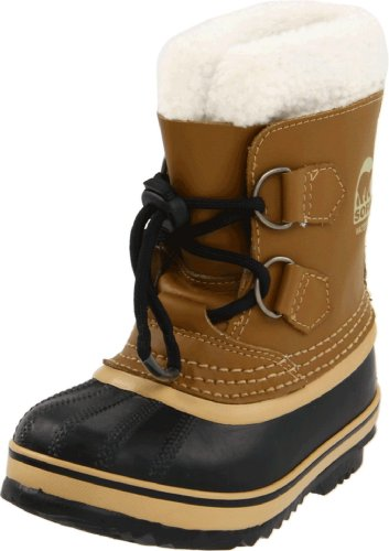 Sorel Yoot Pac Leather 1443 Waterproof Winter Boot (Toddler/Little Kid)