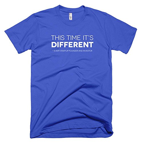 Startup-Drugz-This-time-its-different-Male-T-Shirts-Royal