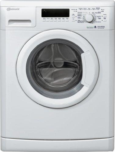 Bauknecht WA PLUS 624 BW Frontlader Waschmaschine / A++ B / 1400 UpM / 6 kg / kWh / Weiß / Startzeitvorwahl / EcoTopTen