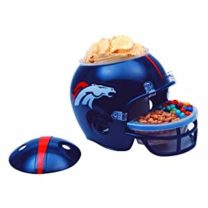 NFL Denver Broncos Snack Helmet