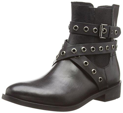 EspritCara - Stivaletti alla caviglia, imbottitura leggera donna , Nero (Black (001)), 38