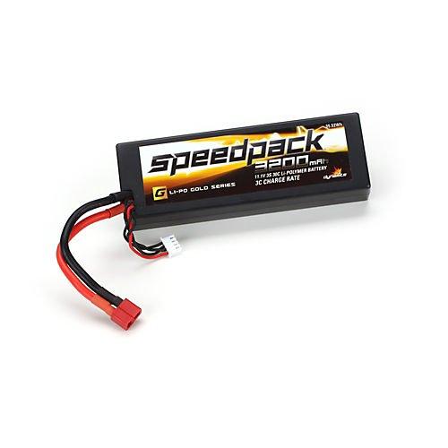 Speedpack Gold 11.1V 3200mAh3S 30C LiPo,Case:Deans