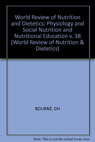 World Review Of Nutrition And Dietetics