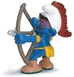 Schleich Archer Smurf