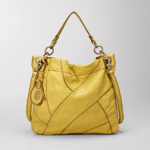 Lyla Convertible Hobo Color: CITRUS