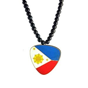 swaggwood wooden philippine flag pendant