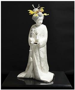 Creative Wooden Doll: The Bride in White Kimono (Shiromuku)