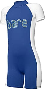 Bare Sprint Shorty Wetsuit for Toddlers and Kids, Blue - 2 yr