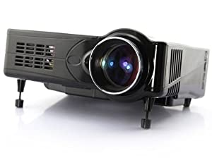 Widescreen HD Ready Home Entertainment Projector (800:1, 2200 ANSI, 1080p, HDMI, 3D Compatible)
