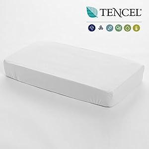 Cambrass Liso E - Sábana ajustable, color blanco en BebeHogar.com