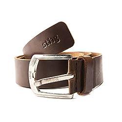 Sting Fine Quality Brown Color Leather Belt For Men (SB4006D1L36)