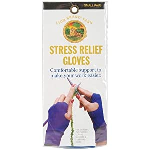Lion Brand Stress Relief Gloves, Small