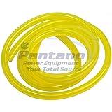 "Genuine Clear Yellow Tygon Fuel Line 1/4"" ID X 3/8"" OD - 10 Feet"