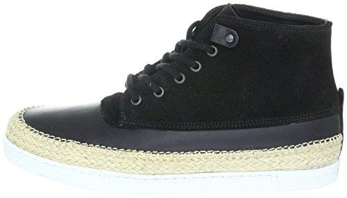 Swear London EARL3, Sneaker uomo Nero BLACK PULL UP, Nero (BLACK PULL UP), 45