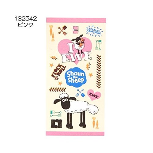 Sean BIG bath towel of sheep (beach towels) 2nd Anime Anime Toy Store / [pink] (japan import)