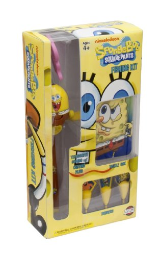 Zebco Spongebob Youth Fishing Rod And Reel Kit