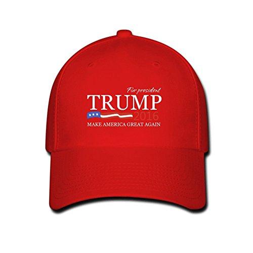 fkhaos-cappellino-da-baseball-uomo-donna-rosso-rosso