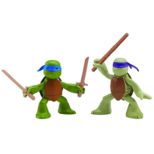 Nickelodeon Teenage Mutant Ninja Turtles, Ninjas in Training, Donatello and Leonardo Action Figures (Tmnt Ninjas In Training compare prices)