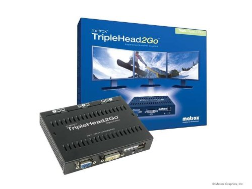 Matrox TripleHead2Go Three-Monitor Graphics Expansion - Digital Edition T2G-D3D-IF (Dual Head 2 Go compare prices)