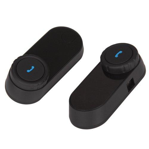 Kesound(Tm) 2 Sets X Weatherproof 800M Gps Bluetooth Motorcycle Intercom 3 Riders For Helmet Headset Ski/Atv With Streaming Wireless Music A2Dp,