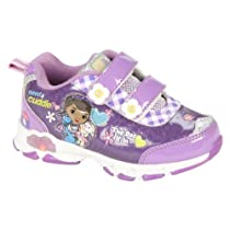 Doc McStuffins Toddler Sneakers - Size 10
