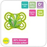 MAM PERFECT ORTHODONTIC SOOTHER 0M+ GREEN BPA FREE 1 IN PACK