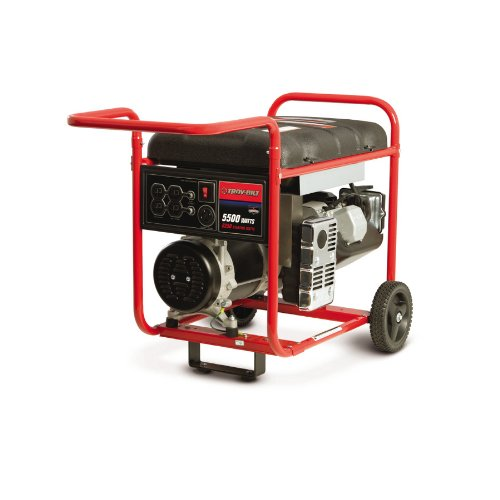 Troy-Bilt 5500 Running Watts Portable Generator