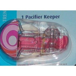 MAM Trends pacifier Clip keeper 1pk - girl colors - 1