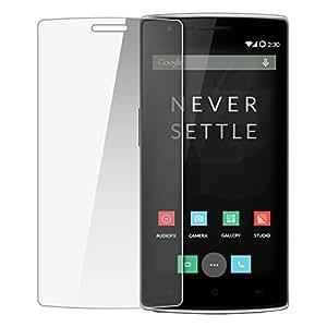Navkar Eshop Navkar Eshop Tempered Glass Screen Protector Gurad for One Plus One