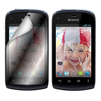 Coveron® Clear Transparent Lcd Screen Protector Shield For Kyocera C5170 Hydro Boost Mobile [Wcs1177]