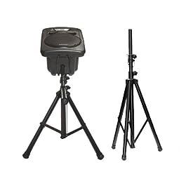 1 x cavalletto stand (1,25-1.88 m) altoparlante supporto modello altoparlanti altoparlante: bs0
