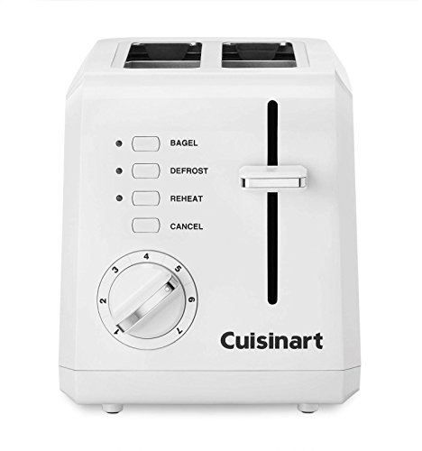 N New Cuisinart CPT-122 Compact Plastic 2 Slice Toaster-White (Cpt Conditioner compare prices)