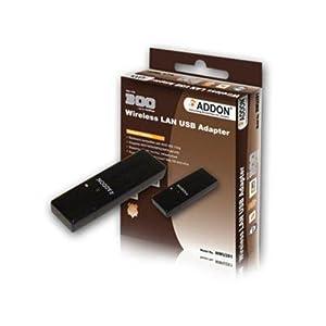 Addon Technology NWU281 11N 300Mbps Wireless USB Adapter