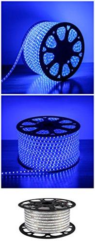 cbconcept ul listed 18 feet super bright 5400 lumen blue dimmable 110 120v ac flexible. Black Bedroom Furniture Sets. Home Design Ideas