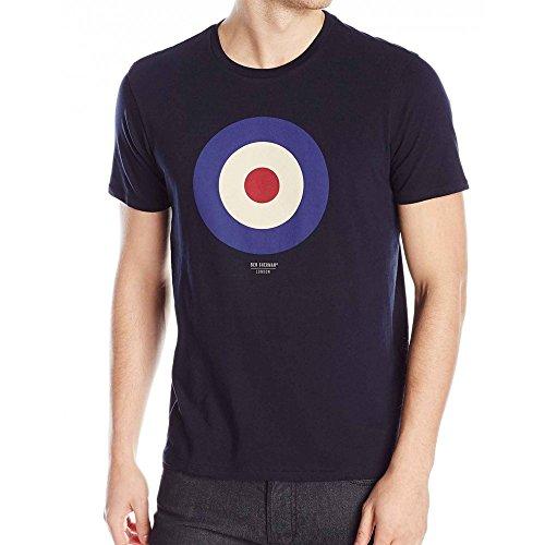 ben-sherman-t-shirt-ben-sherman-target-tee-basic-xs-bleu-marine
