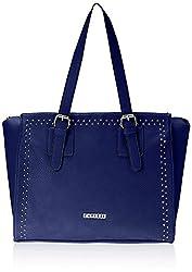 Caprese Amanda Women's Satchel Handbag (Blue) (SLAMALGBLU)