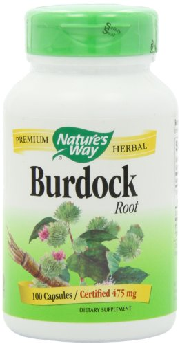 Nature's Way Burdock Root (COG), 100 Capsules (Pack of 2)