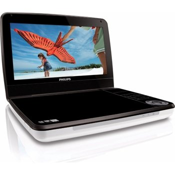 Philips Pd9030/37 9-Inch Portable Dvd Player (White/Black)