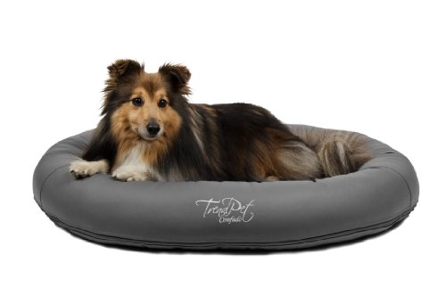 Artikelbild: TrendPet 'Comfado' 90x70cm Elephant, Luxus Hundebett aus Soft-Kunstleder 'Das Hundebett'