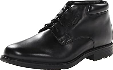 Rockport Men's Essential Details Water Proof Chukka Boot,Black,6.5 W US