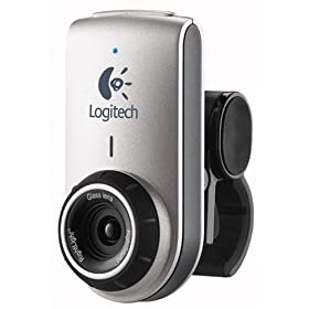 41iJrcXrPGL. SL500 AA280  Logitech QuickCam Deluxe (960 000043) for Notebooks   $18 Shipped
