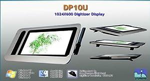 "Yiynova DP10U 10.1"" USB Digitizer Tablet LCD(Win/Mac)"
