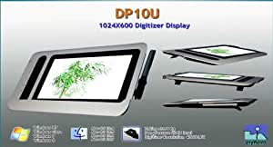 "Yiynova DP10U 10.1"" USB Digitizer Tablet LCD(Win/Mac)"