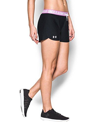 Under Armour Women's Play Up Shorts, Black (027), X-Small