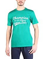 Champion Camiseta Manga Corta (Verde Oscuro)