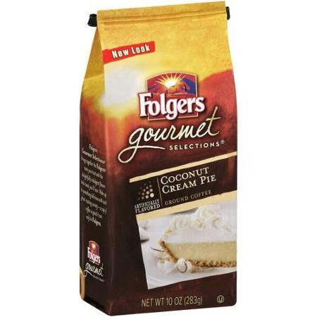 folgers-gourmet-selections-coconut-cream-pie-roast-ground-coffee-283-g-pack-of-3